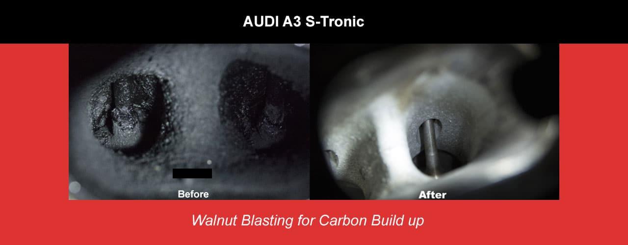 Need Walnut Blasting? Carbon Build Up | Los Angeles Auto Repair